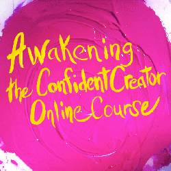 Awakening the Confident Creator painting for navigation to sales page