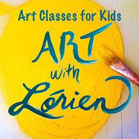 Image of art to navigate to Lorien's Outschool class site