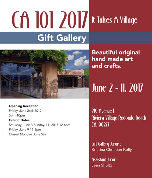 Image of CA 101 Art Show Flyer