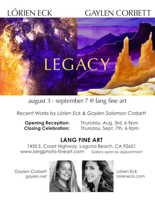 image for Lorien summer art exhibition legacy in Laguna Beach - August 3