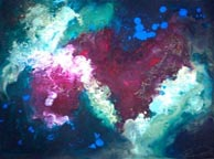 heart nebula II painting - Cosmos Art