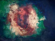 love nebula painting - The Cosmic Collection by Lorien Eck